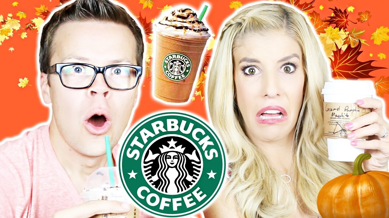 TRYING STARBUCKS FALL DRINKS (on their Secret Menu)!