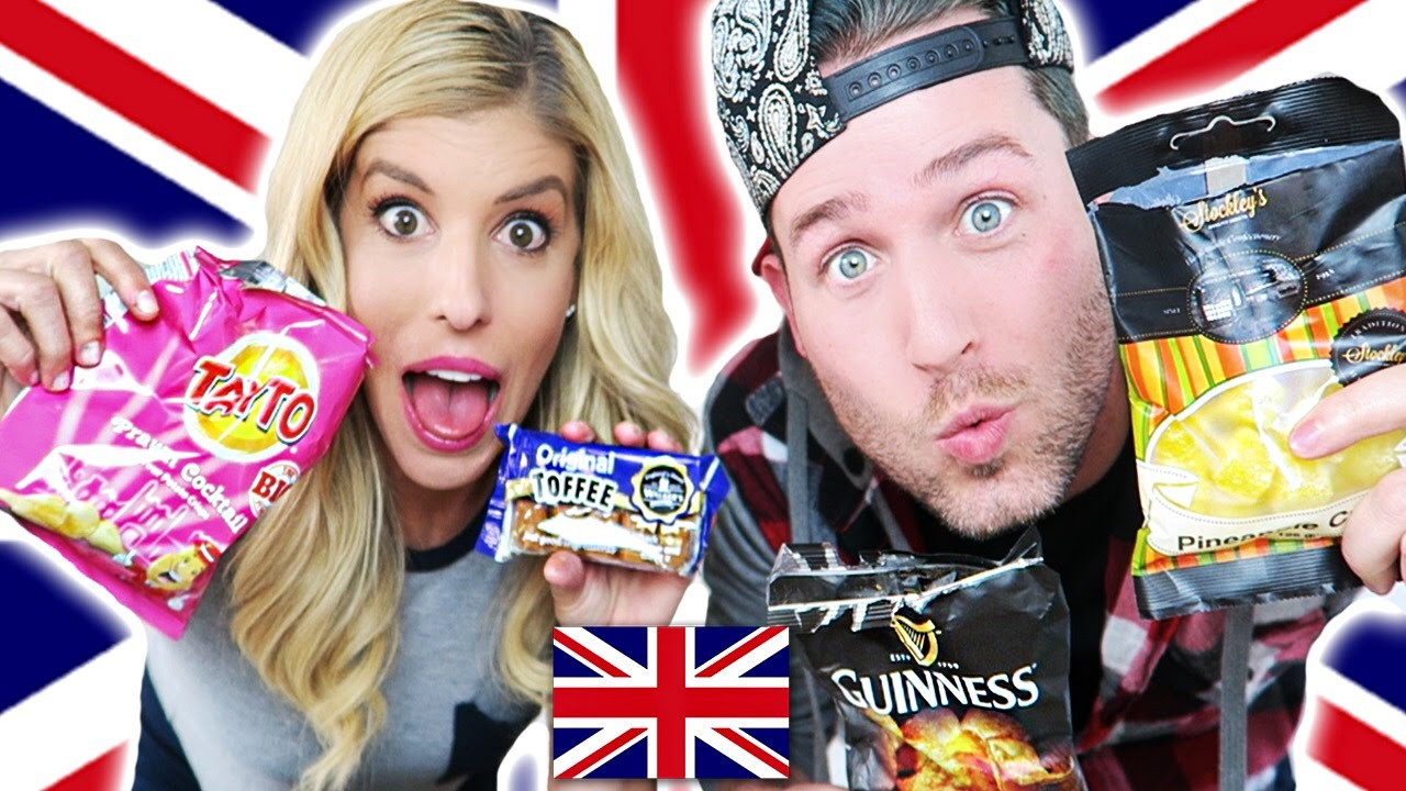 Americans Try British Treats w/ JoshuaDTV