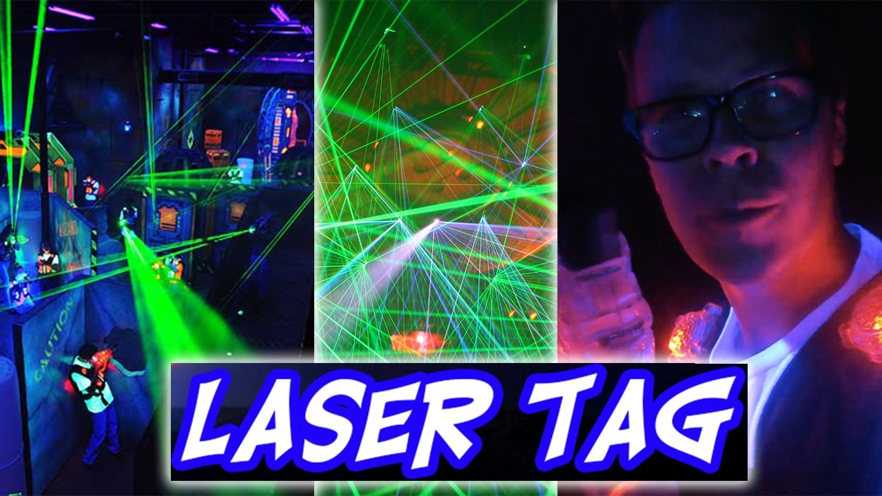 EPIC LASER TAG BATTLE