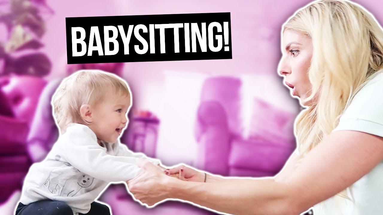 BABYSITTING THE CUTEST TWIN BABIES EVER!  TAYTUM & OAKLEY (DAY 318)