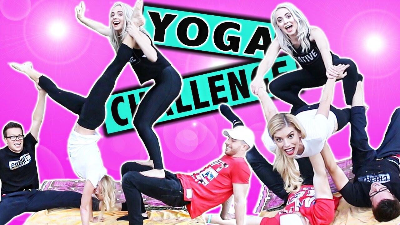 EPIC COUPLE'S YOGA CHALLENGE!