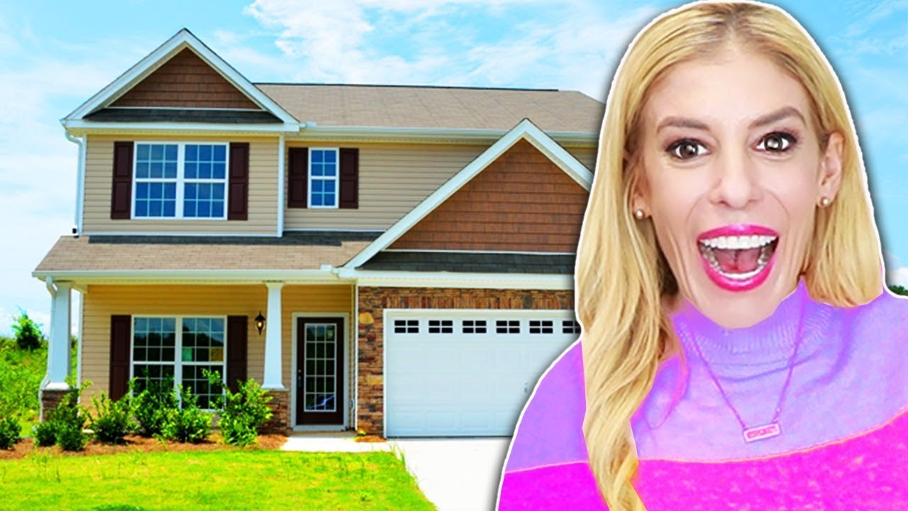 MY NEW HOUSE TOUR! (Room Reveal)