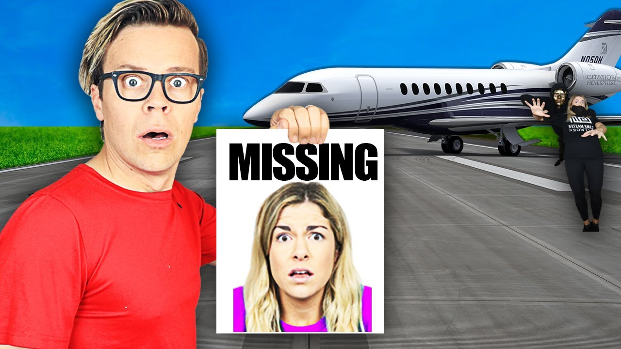Maddie is Missing after Challenge! Spending 24 Hours Searching Lost Friend Vs Spy Hacker Safe House!
