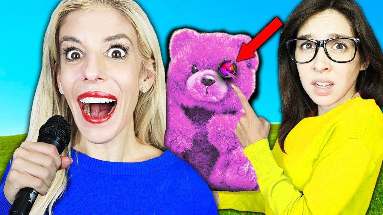 New BEST FRIENDS SONG Reveals SECRET Hidden Cameras in HOUSE! (24 Hour Music Video Challenge)