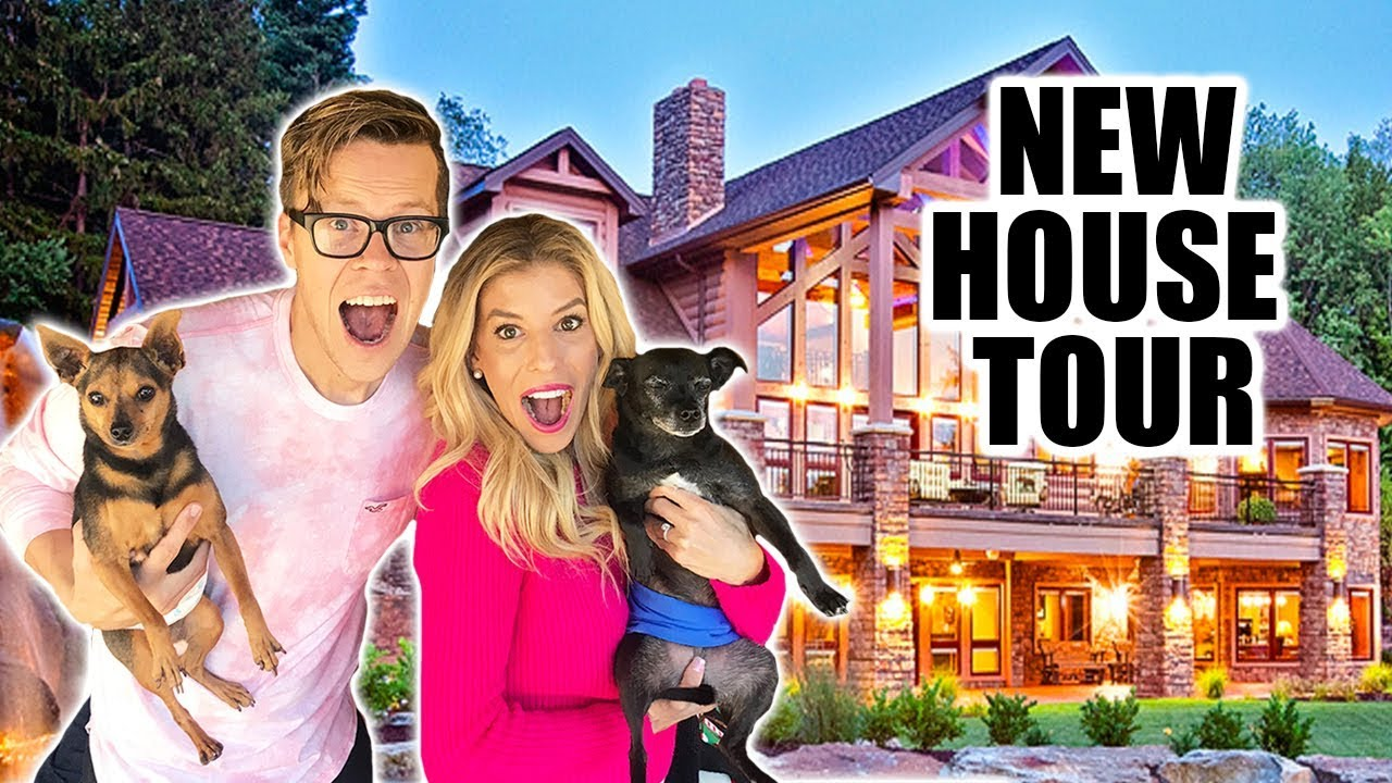 New House Tour! We can't believe we did this.