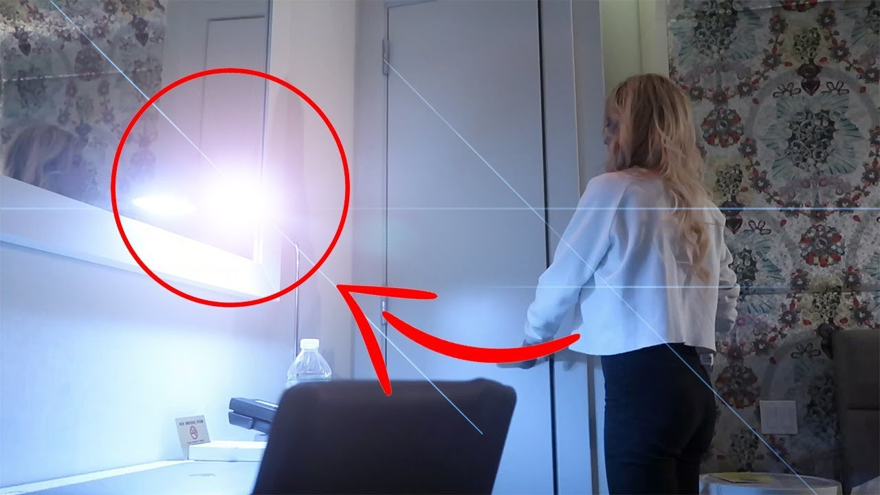 Something Crazy Happened in Our Hotel Room - Caught on Camera