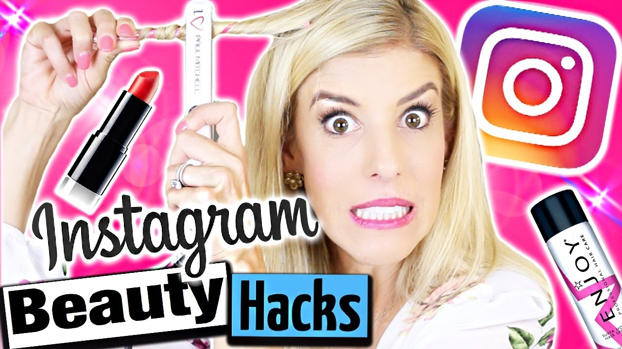 TESTING INSTAGRAM BEAUTY HACKS!!