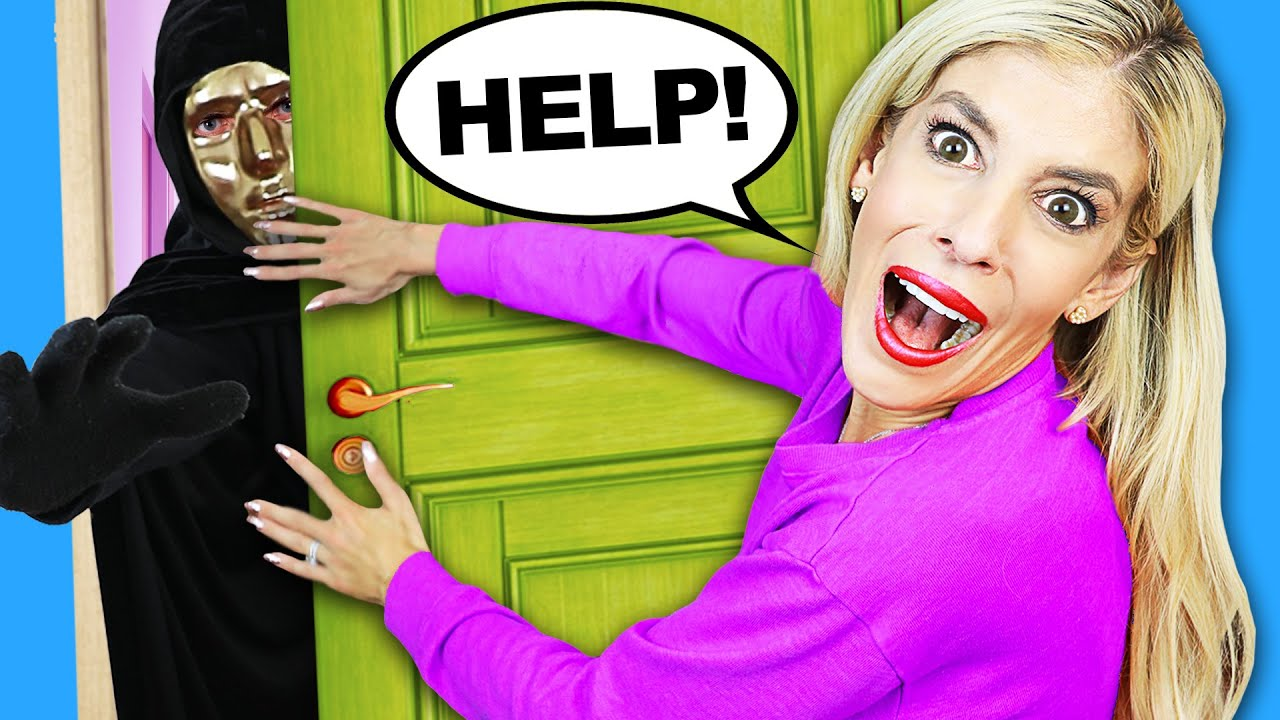 They FOUND Our HOUSE! REBECCA Escaping after Secret Message from RZ Twin (New Disguise Reveal)