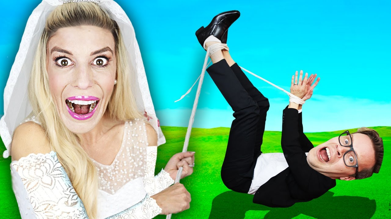 WORST WEDDING PHOTO Wins $10,000! Recreating Awkward Situations, Matt Arrested by Riddles and Tricks