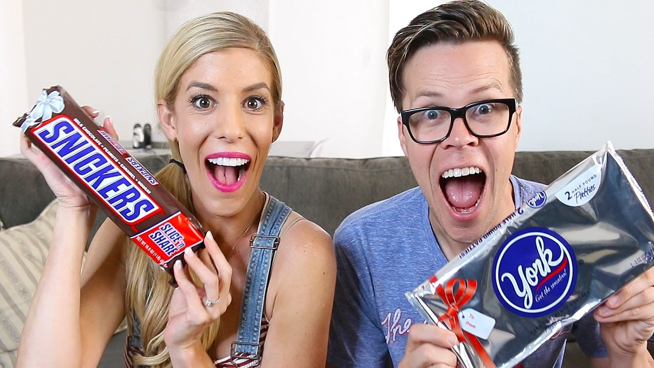 TRYING GIANT SIZED CANDY BARS - (DAY 113)
