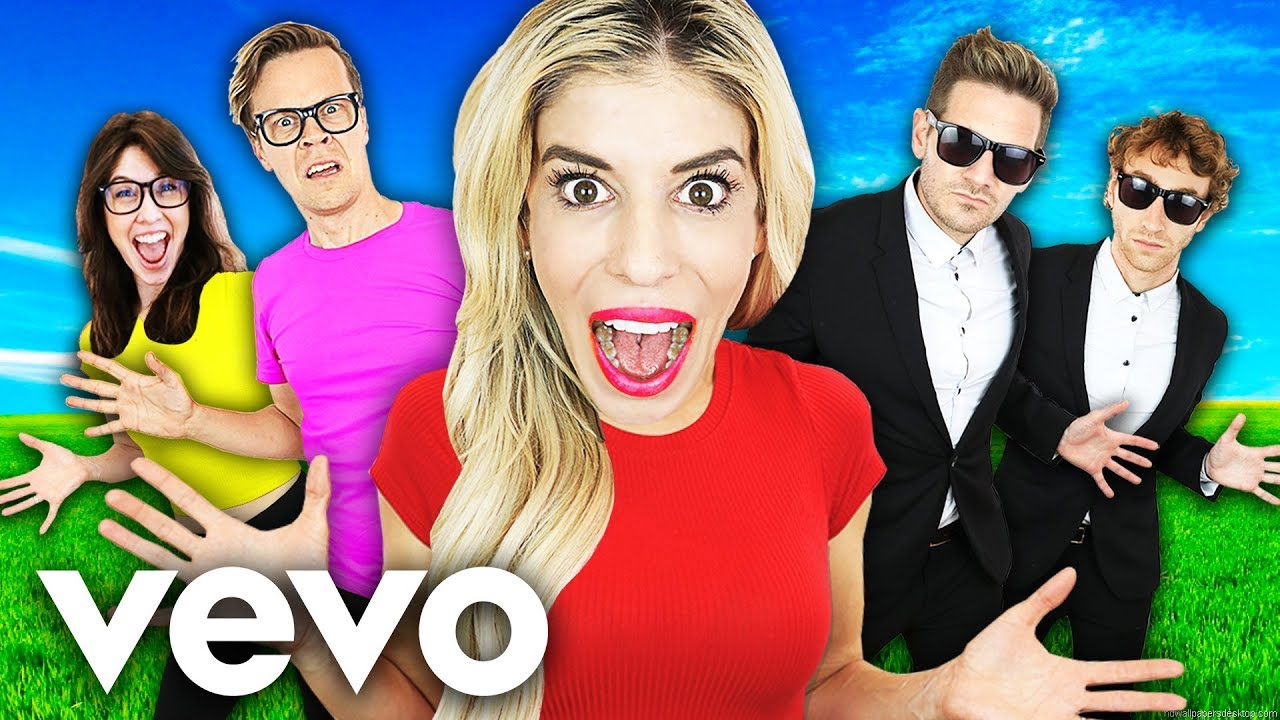 Rebecca Zamolo Official Giant Music Video Song Challenge! (Experiment Update  Pranking Friends)