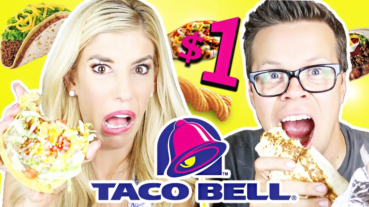 Trying Taco Bell's Dollar Menu