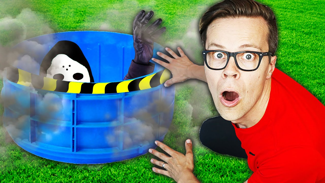 Daniel Found Game Master Living in our House! (Searching for Giant Clue in Real Life to save Crush)