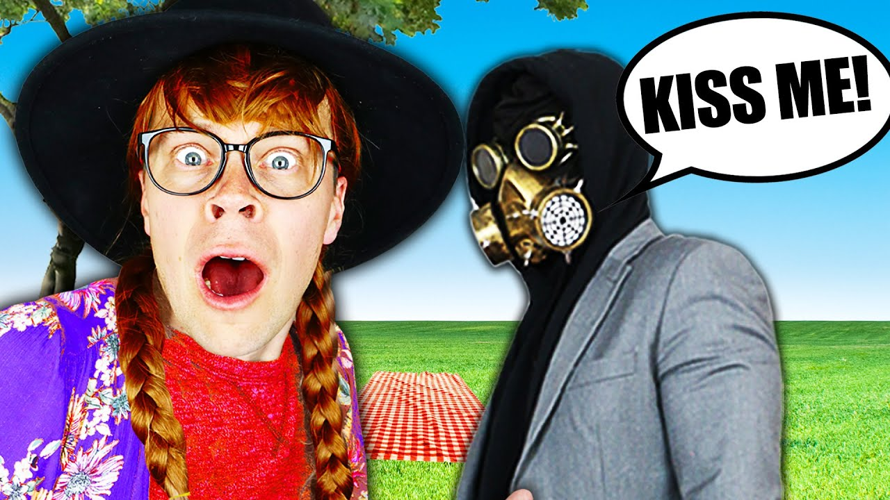 First Date With Mr X in Disguise to Reveal Secret Gifs and Funny Memes! Matt and Rebecca