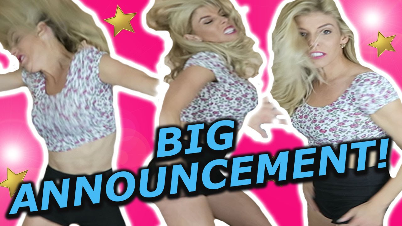 OUR BIG ANNOUNCEMENT!!