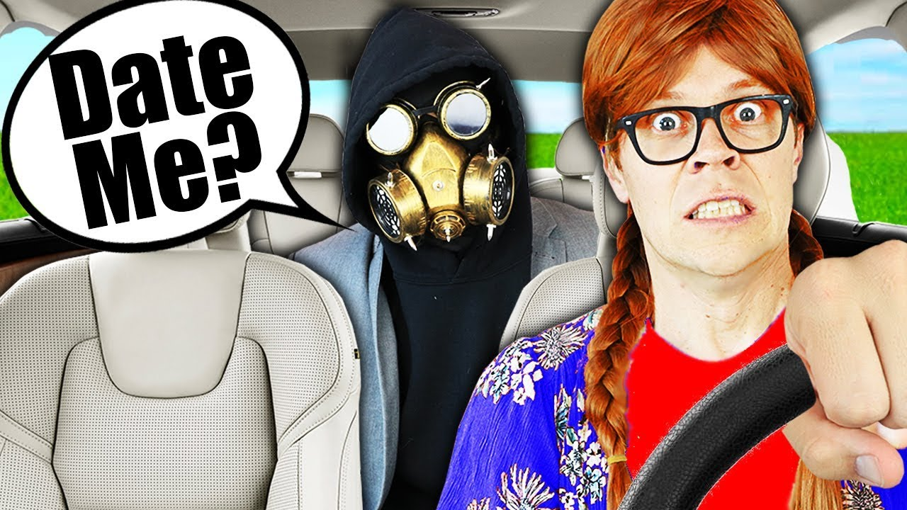 Picked Up Mr. X In an Uber Disguise for 24 Hours! (Gone Wrong) Matt and Rebecca