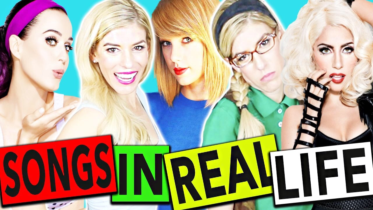 SONGS IN REAL LIFE! | Rebecca zamolo