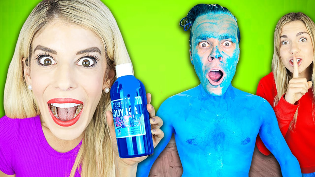 Tricking Matt for 24 Hours with my Cousin Maddie!  (Worst Idea) Rebecca Zamolo