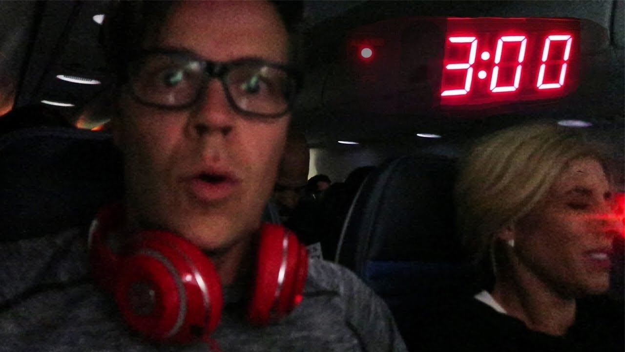 Don't Fly at 3AM Challenge on a plane!