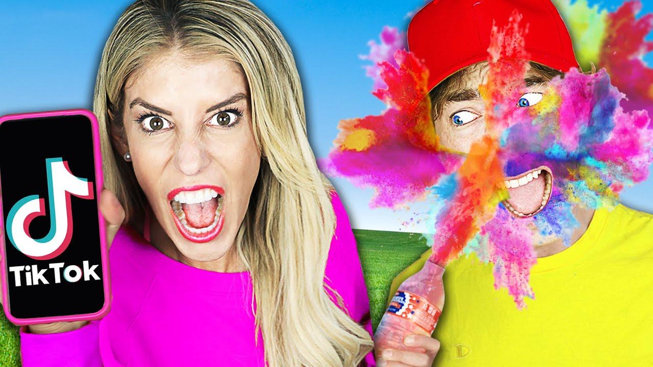 We Tested Viral Tik Tok Tricks and Life Hacks to Reveal Maddie's Crush Secret! Best TikTok wins!