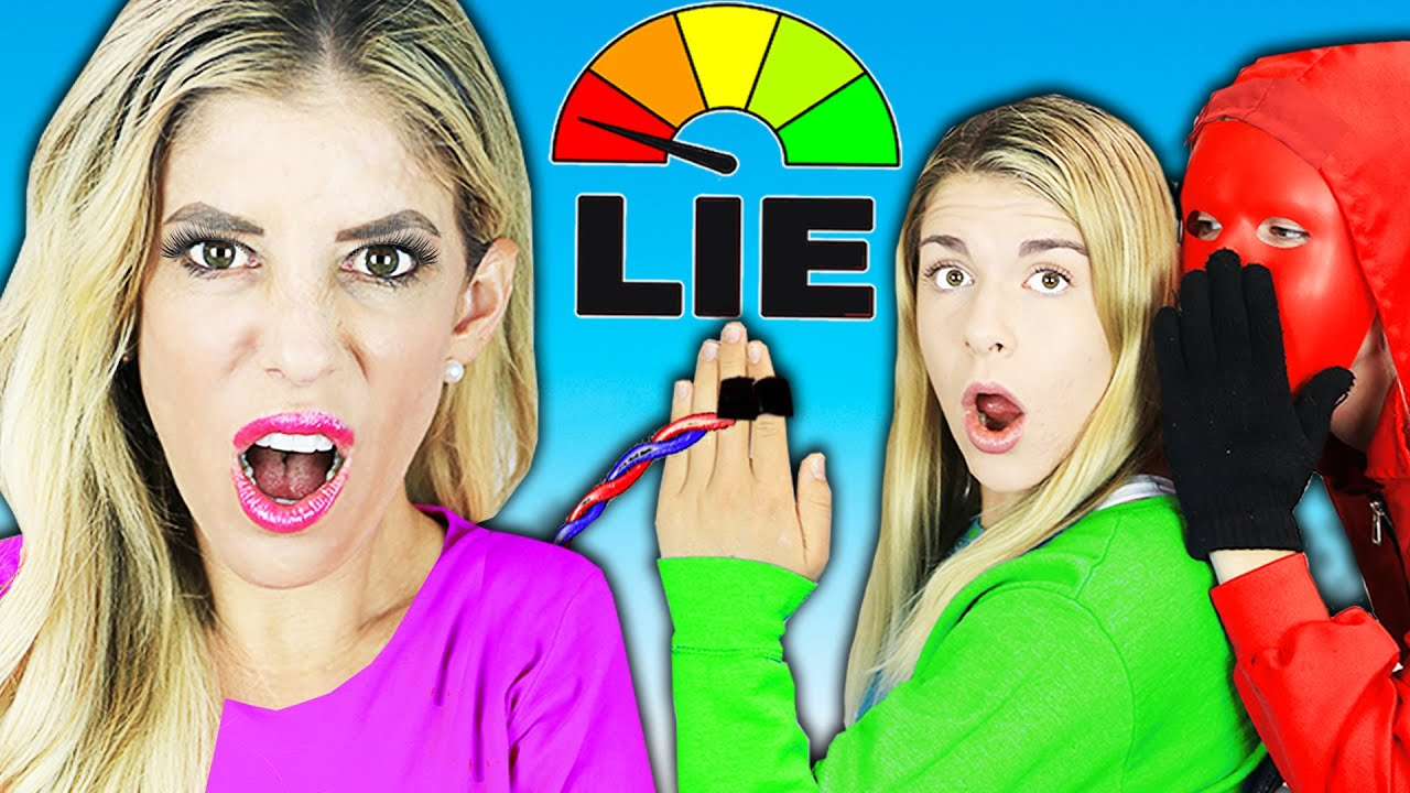 Lie Detector Test on Best Friend for Face Reveal! Rebecca Zamolo