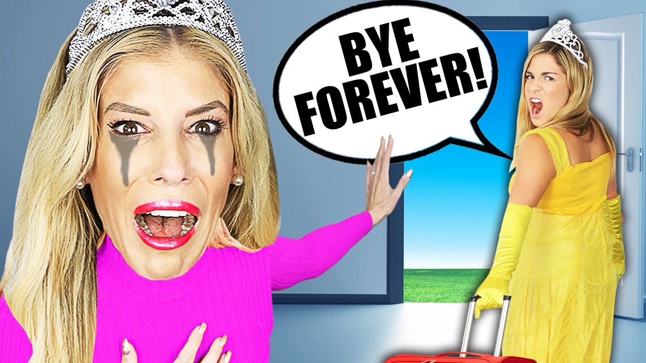 Rebecca's Best Friend Leaves Game Master Network Forever in Disney Princess Challenge!