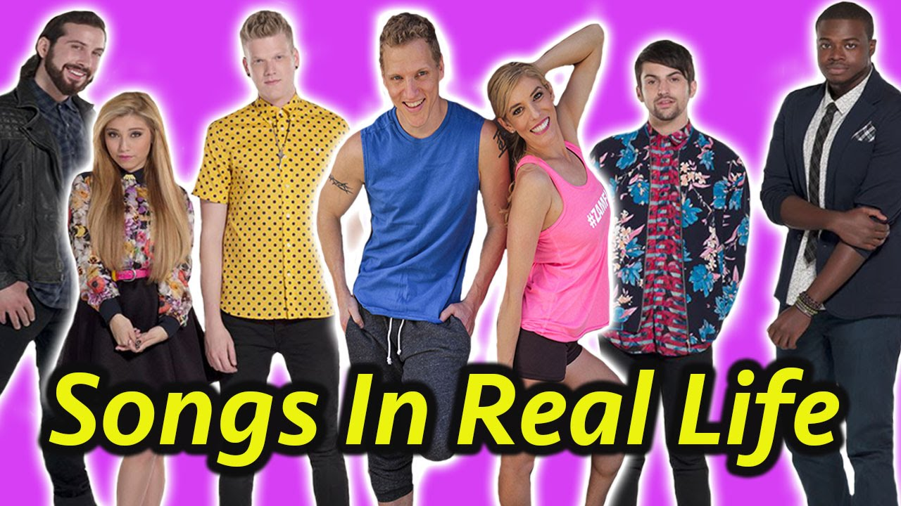SONGS IN REAL LIFE  *Pentatonix Edition*