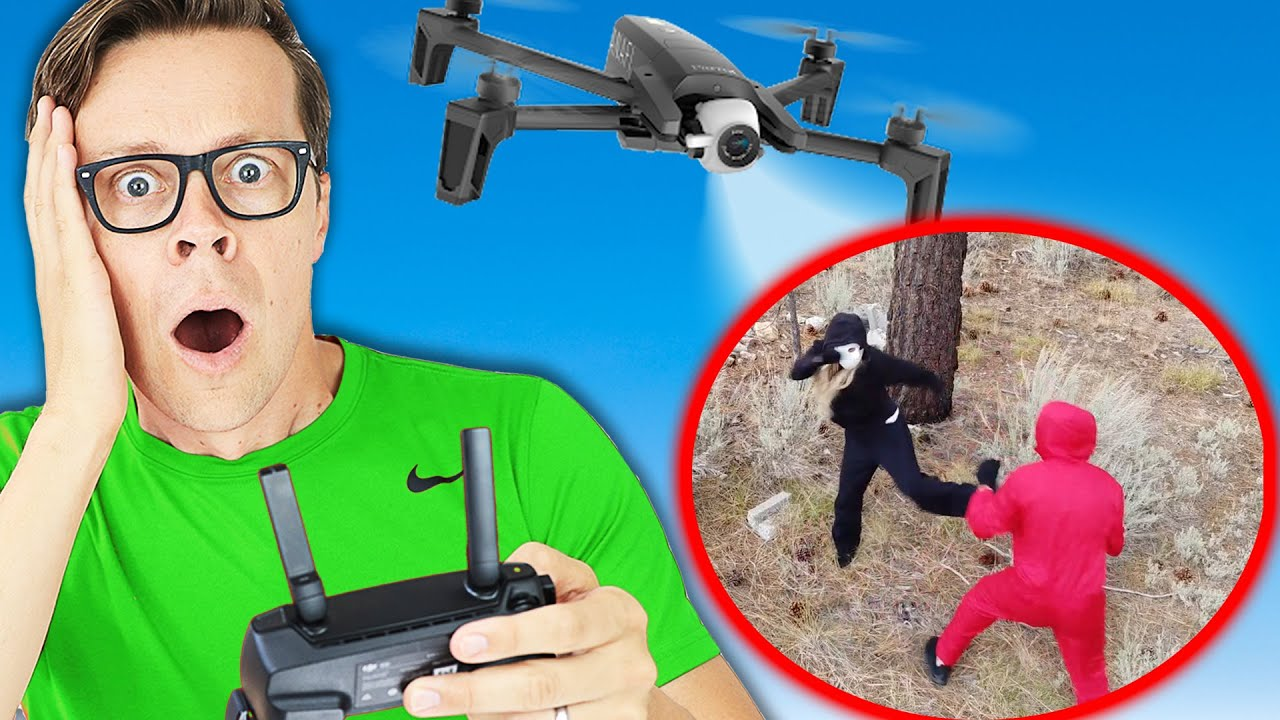 Drone Prank Gone Wrong! Found RHS Spy durning Diy Pranks and Funny Tricks.