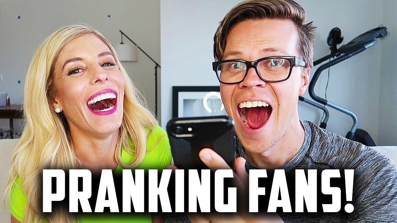 PRANK CALLING FANS!  (Day 231) SONG LYRIC PRANK!