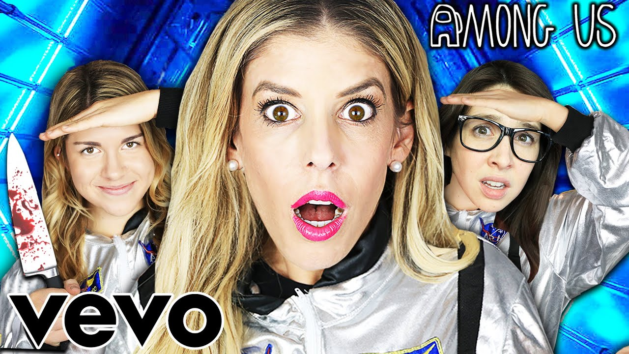 Rebecca Zamolo Among Us In Real Life Official Music Video!