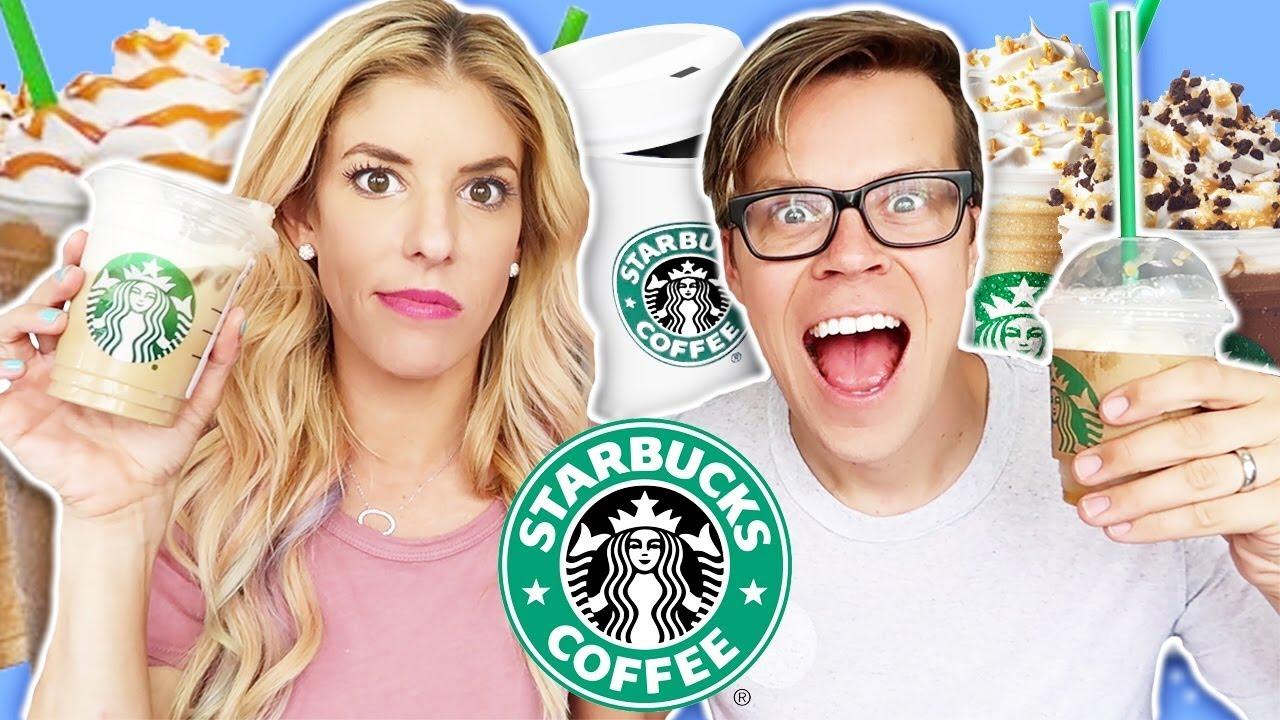 Inventing a DiY Starbucks Drink - New Secret Menu Item