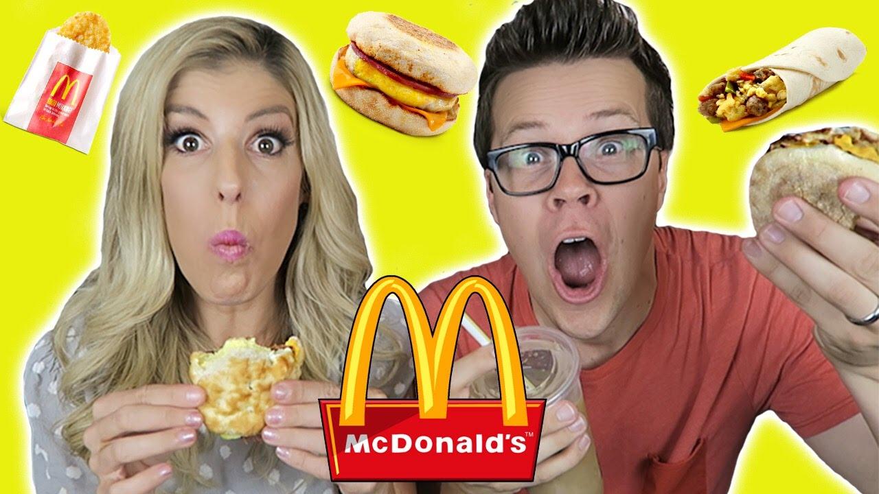 Trying McDonalds Breakfast