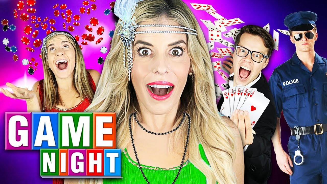 Giant GAME NIGHT with Rebecca Zamolo to Win $10,000 (Police Called) on The GameMaster.com