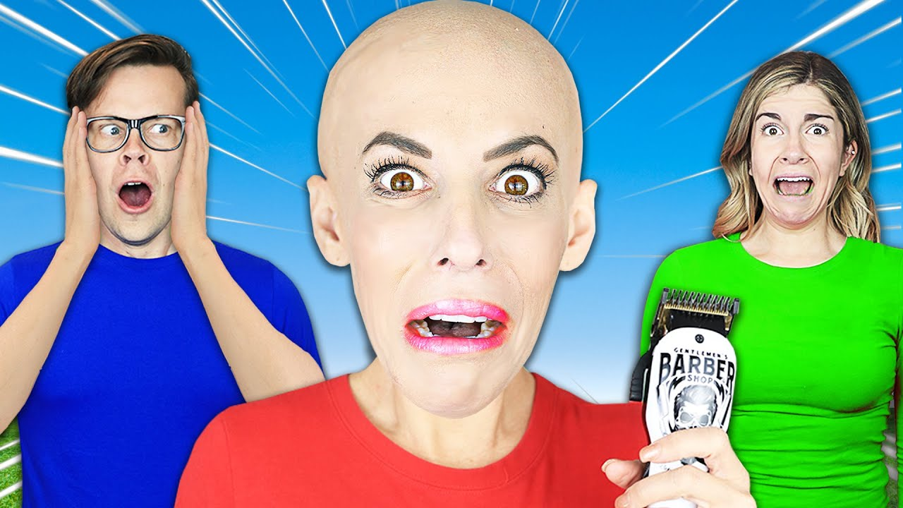 I Shaved My Head, Which Best Friend Will Be My Twin in 24 hours? Rebecca Zamolo on The GameMaster.com