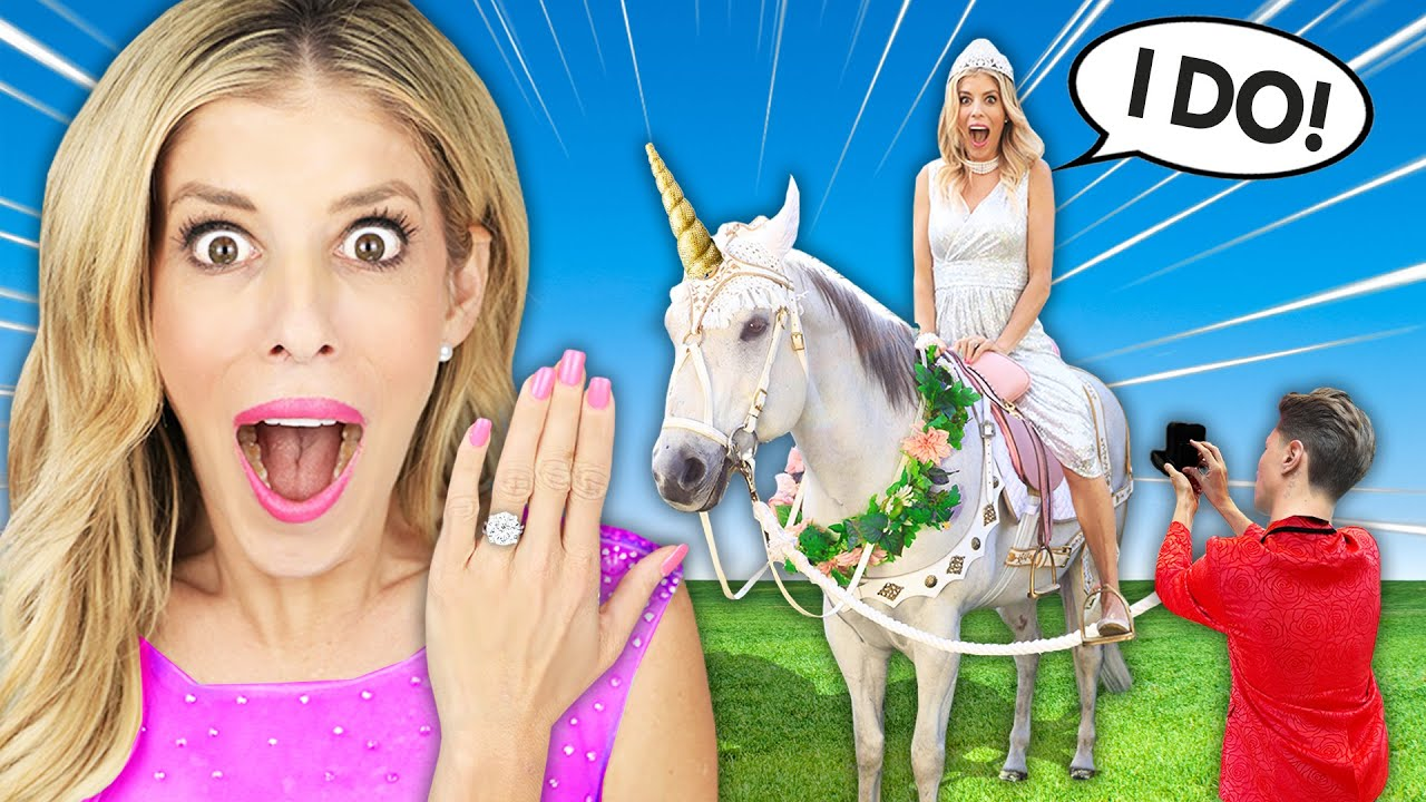 I Got Proposed to on a Unicorn for Prom! – Rebecca Zamolo on The GameMaster.com
