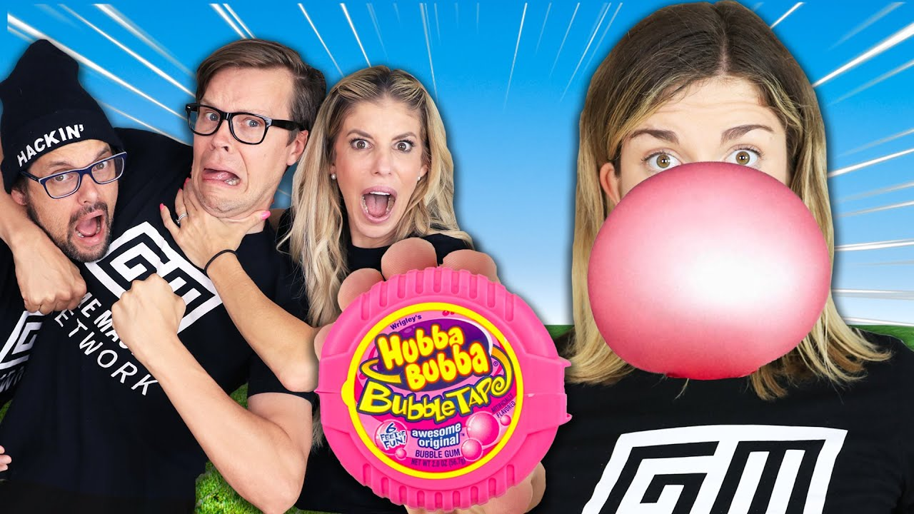 Bubble Gum Blowing Challenge - Game Master Network