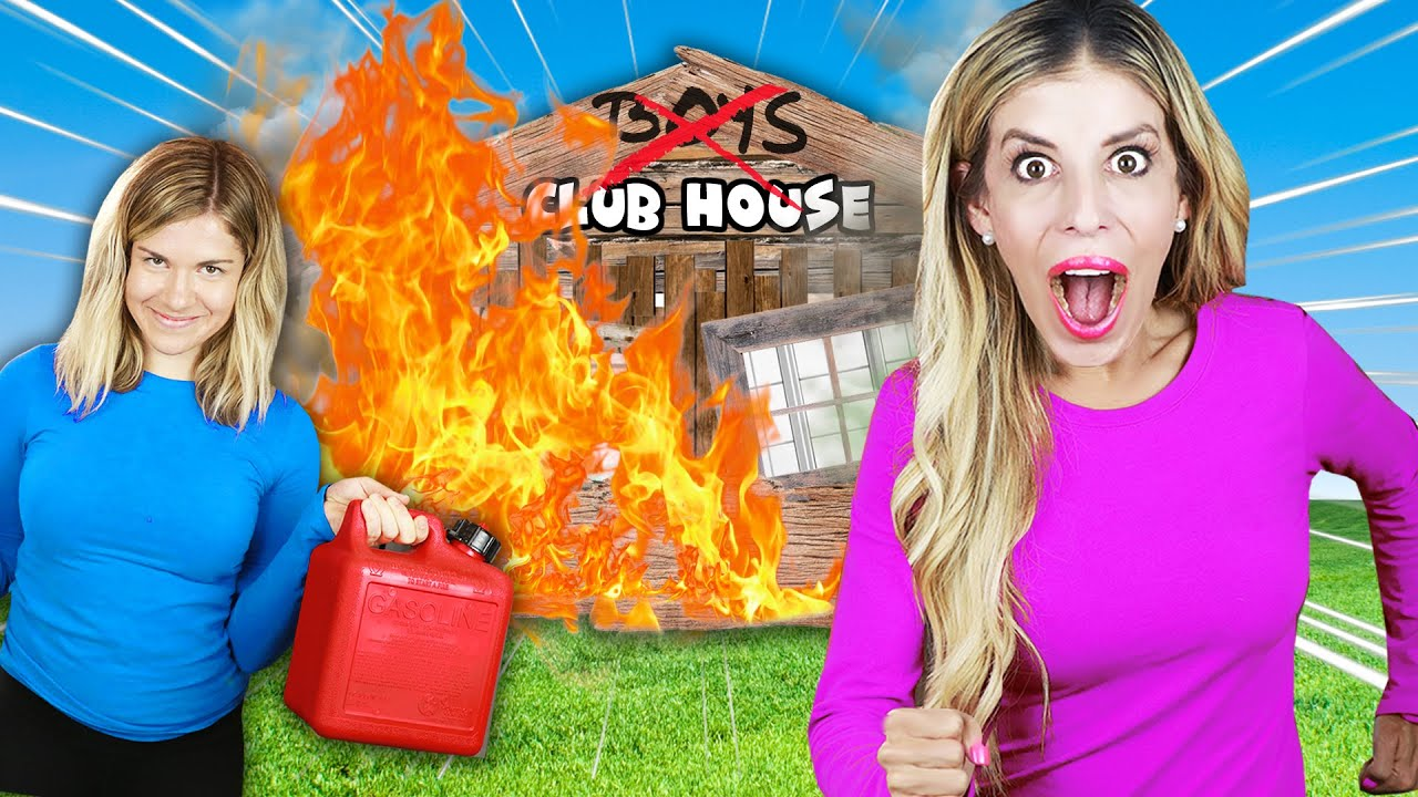 We Destroyed the CLUBHOUSE with Funny HOME ALONE Pranks to See His Reaction