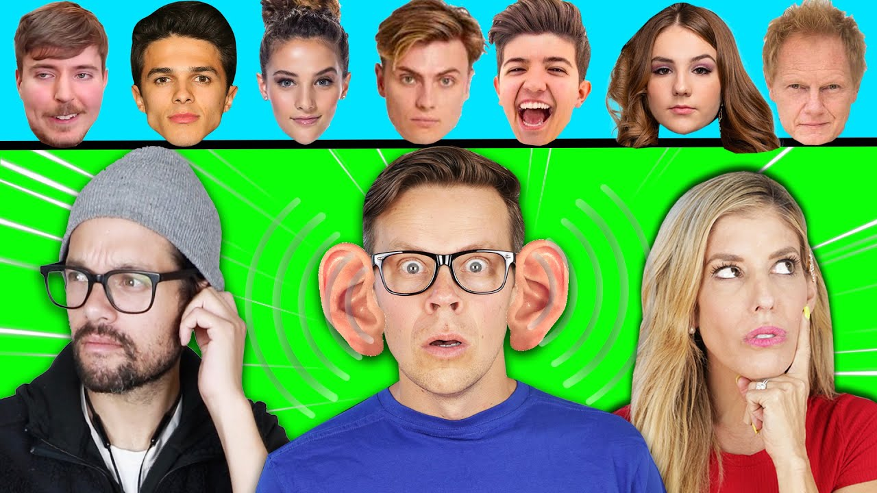 Guessing YouTubers Using ONLY Their Voice Challenge to Find Hacker