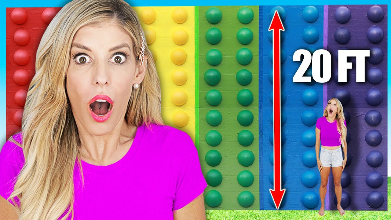 WORLD'S LARGEST DIY POP IT - Rebecca Zamolo