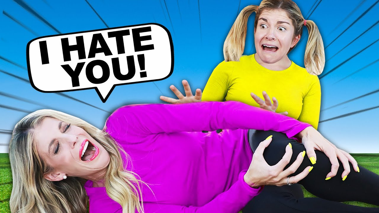BIG SISTER Hates LITTLE SISTER - Rebecca Zamolo